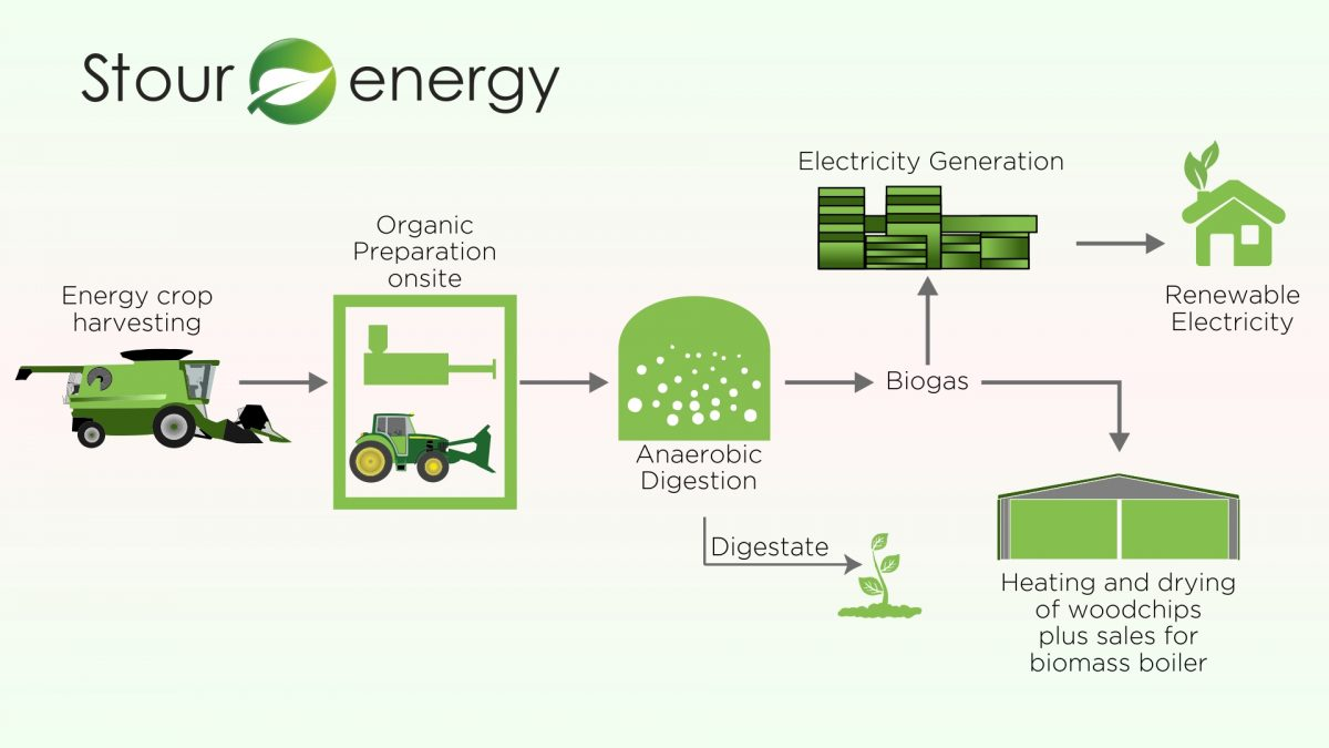 Stour Energy Anaerobic Digestion and biomass wood chip sales process